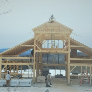 Buildings & Cabins — Vermont Wood Works Council