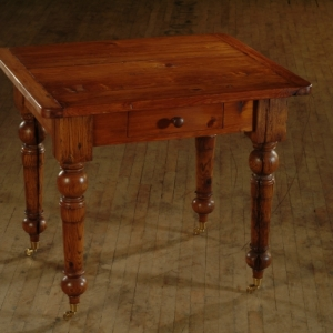 Dk Hertpine Stain with Wiping Varnish_Antique Oak Work Table